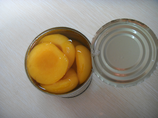 Yellow Peach Halves